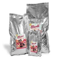 Croquettes chien sans cereales canard et truite disponibles en 3 conditionnements
