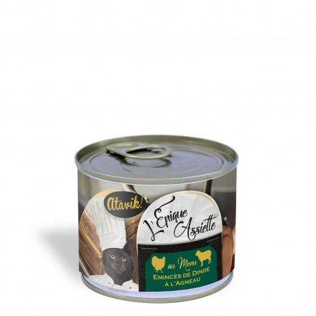 Alimentation premium chats - Epique Assiette dinde à l'agneau