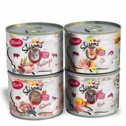 Pâtée 4 Saisons Atavik disponibles en 4 recettes