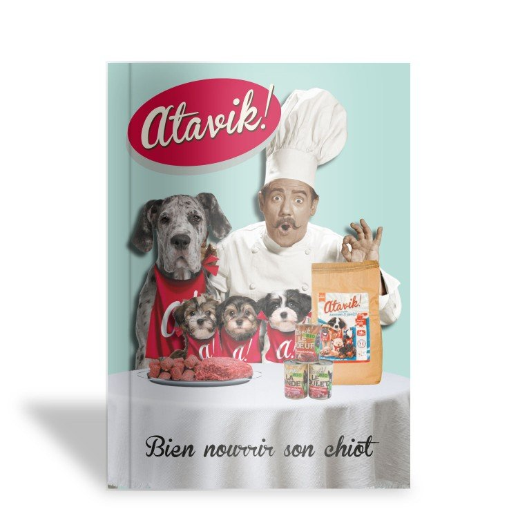Guide alimentation spécial chiot - Atavik