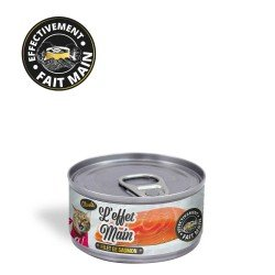 Pâtée pour chat - L'Effet Main - Filet de Saumon
