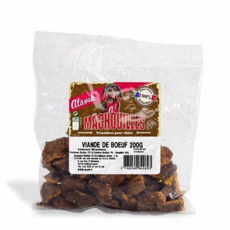 Viande de boeuf pour chien - Machouilles Atavik