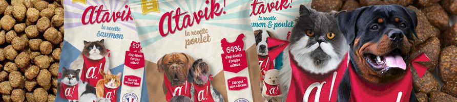 Echantillons de croquettes pour chiens et chats - Atavik
