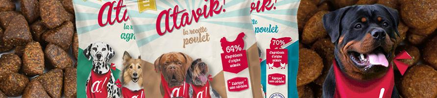 Echantillons de croquettes pour chien - Atavik